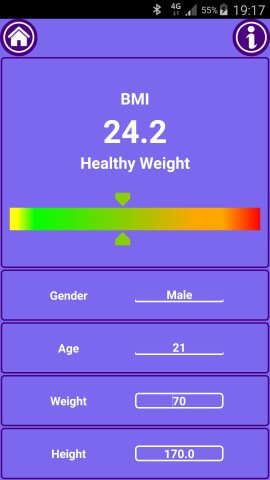 Fit Mark - Fitness Calculator Body Mass Index