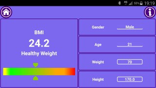 Mobile Fit Mark - Fitness Calculator Body Mass Index