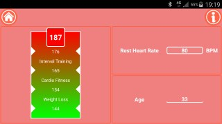 Mobile Fit Mark - Fitness Calculator Golden Heart Rate